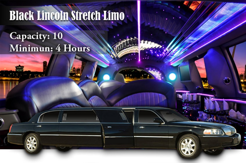 Black Lincoln Stretch Rental New York
