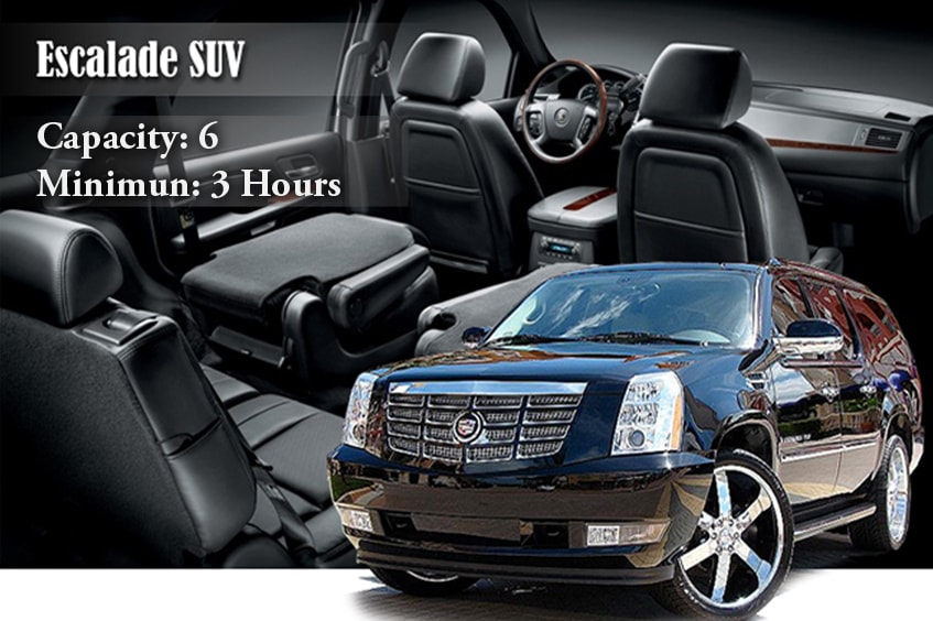 Black Escalade SUV Rental New York